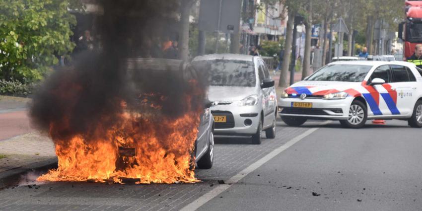 autobrand-politieauto