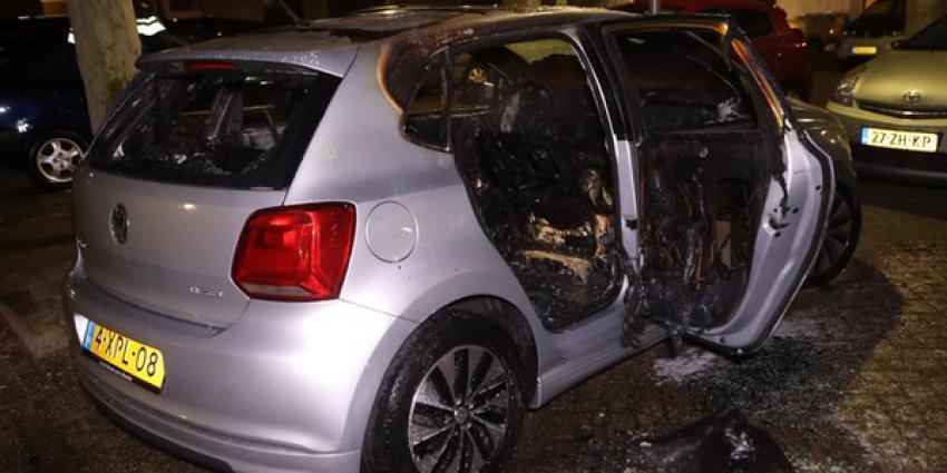 personenauto, uitgebrand, den bosch