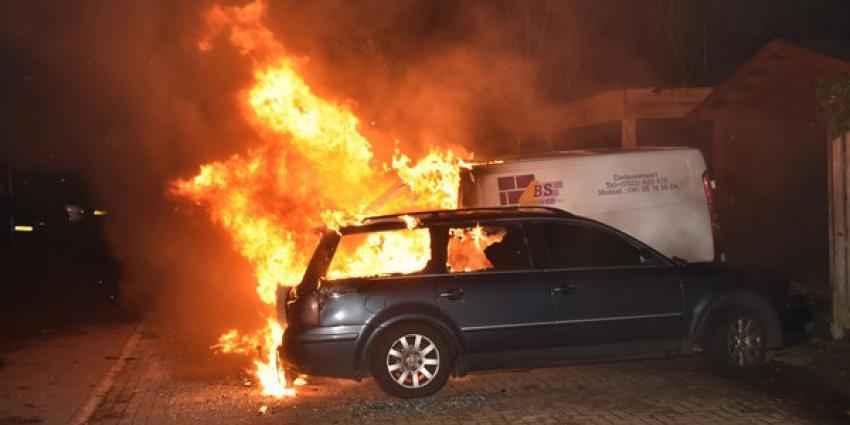 Autobranden in Hoogeveen en Hollandscheveld