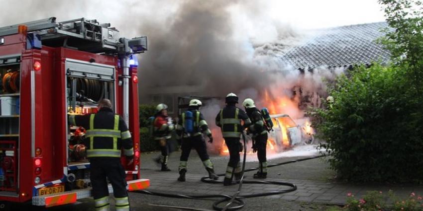 Foto van autobrand Uden | Willy Smits | www.112journaal.nl