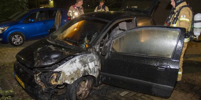 Elfde autobrand in Vlaardingen