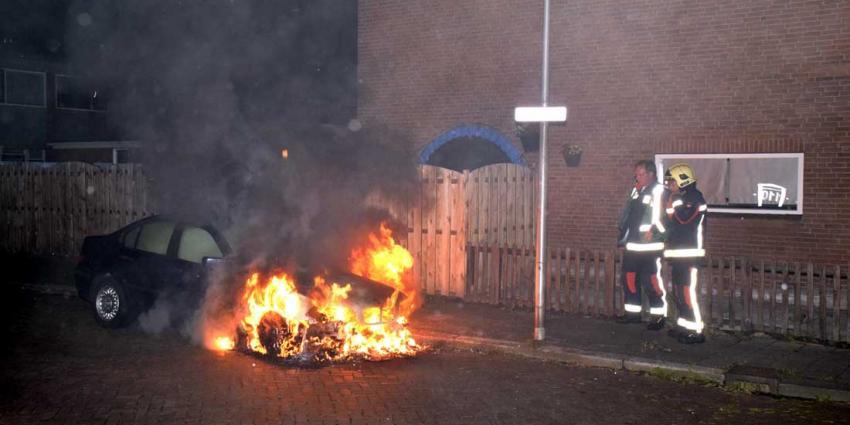 Opnieuw auto afgebrand in Hoogeveen