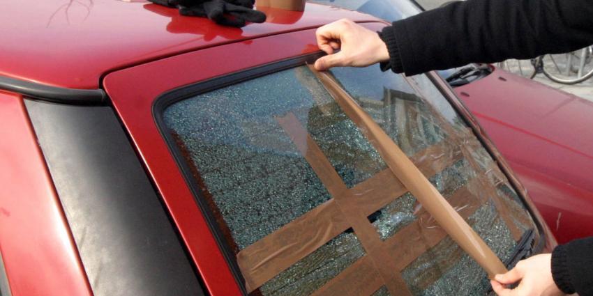 Veertien auto's vernield in Spijkenisse
