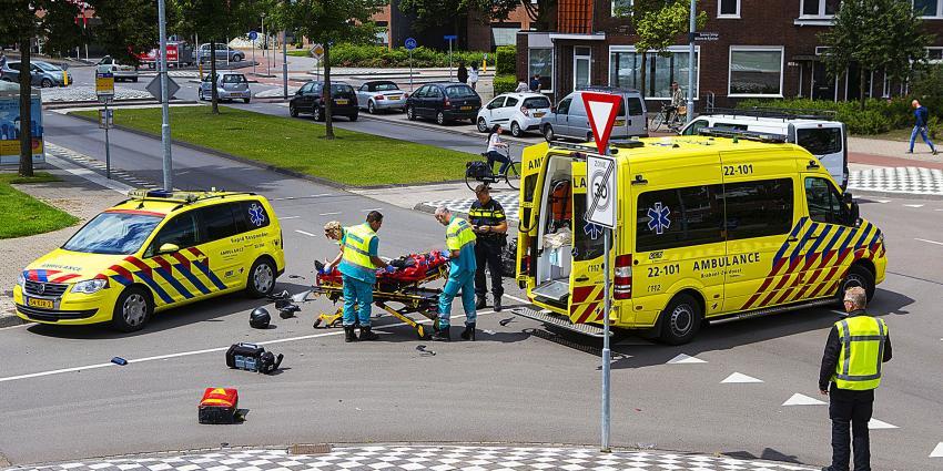 Motorrijder gewond bij aanrijding in Eindhoven