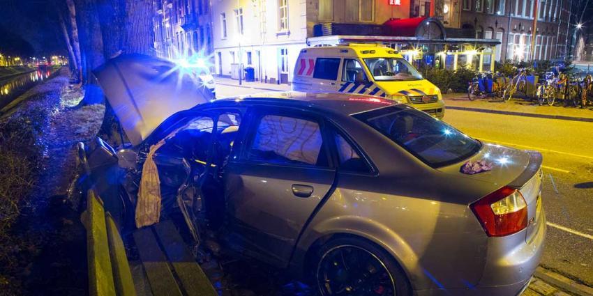 Flinke schade verkeersongeval centrum Den Bosch
