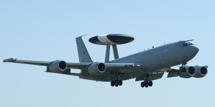 Awacs-vliegtuigen mogen blijven vliegen