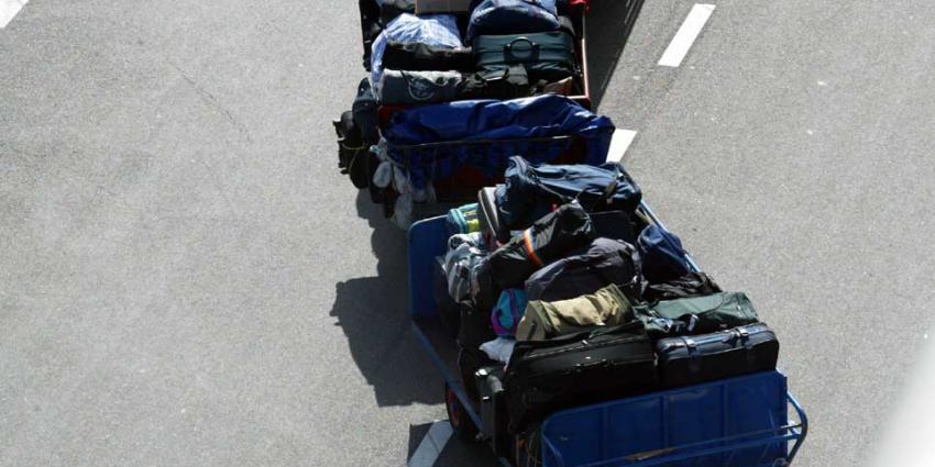 Stiptheidsactie bagagepersoneel Schiphol