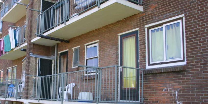 foto van balkon   Archief bon