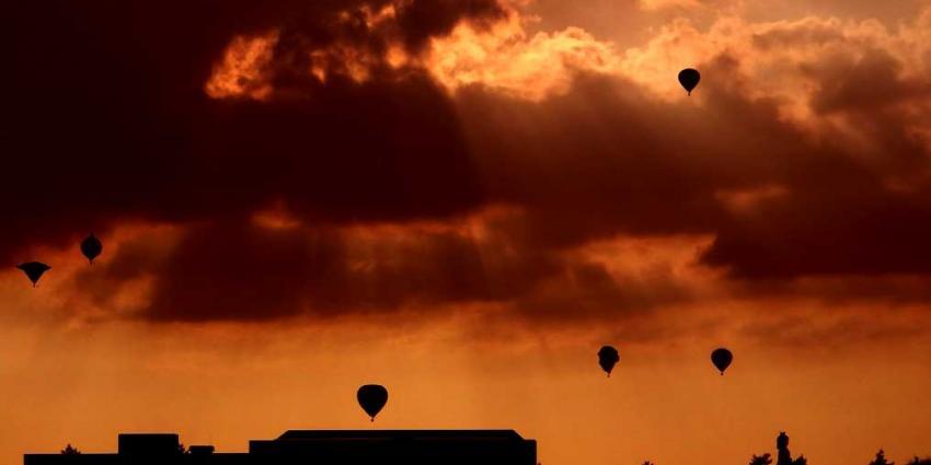 Foto van heteluchtballonnen in Joure   Frank Vink