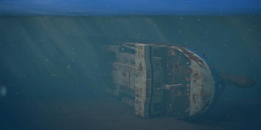 Scheepvaartverkeer Noordzee verlost van wrak gezonken Baltic Ace