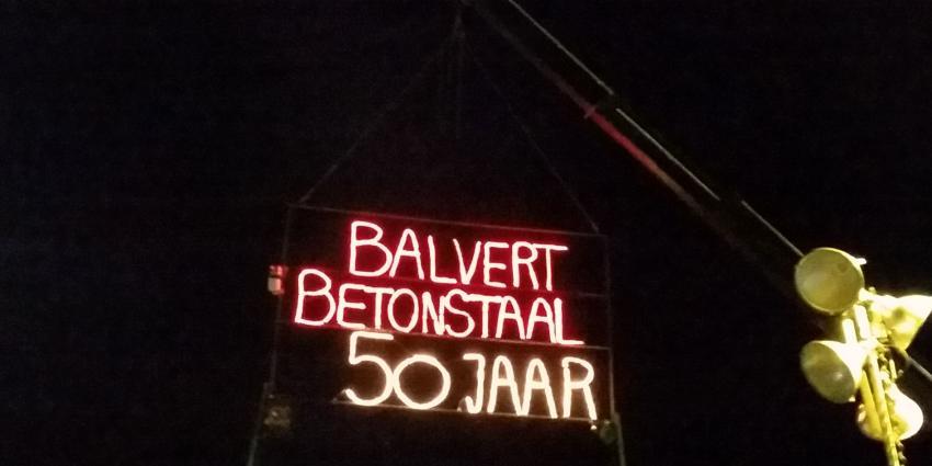 Balvert betonstaal viert haar 50-jarig bestaan