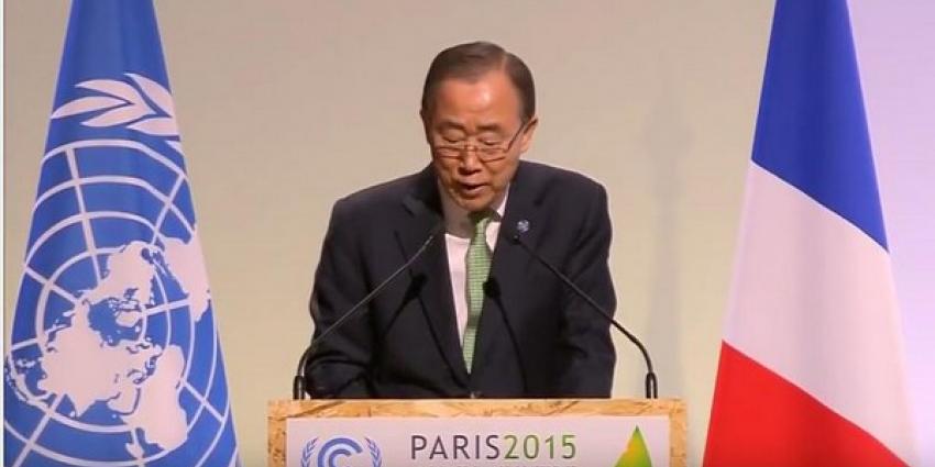 Delegaties van 195 landen gaan akkoord met nieuw klimaatverdrag
