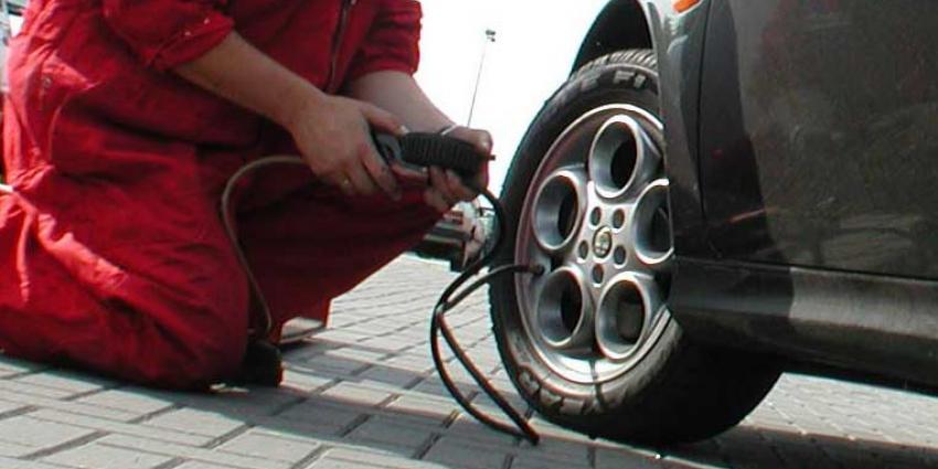 Een autoband op juiste spanning is beter voor milieu en portemonnee