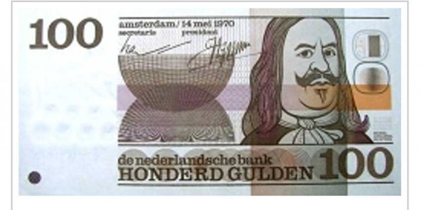 Laatste kans om 100-gulden biljetten van De Ruyter te verzilveren