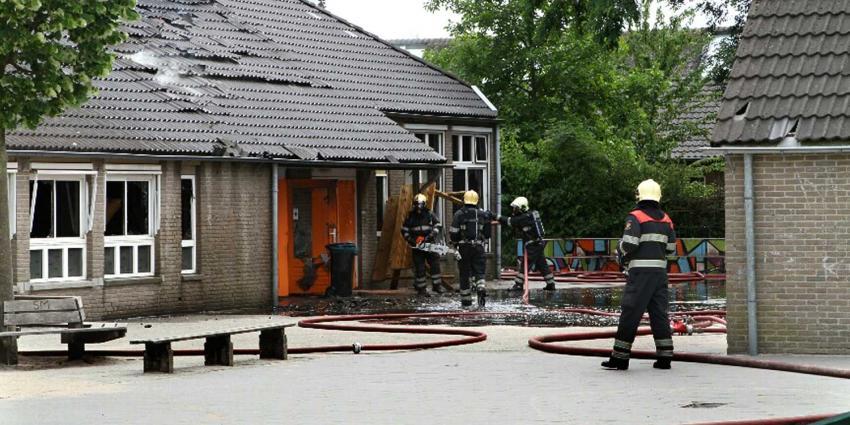 Brand basisschool Eindhoven richt veel schade aan
