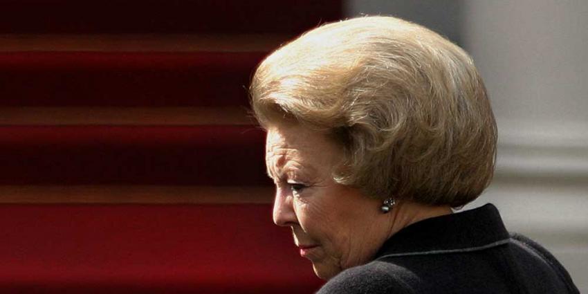 Prinses Beatrix bij herdenking 1e WO in België