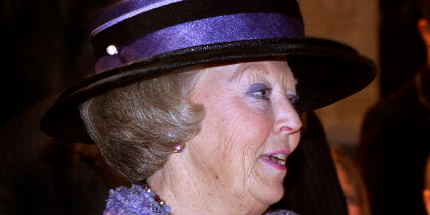 Foto van prinses Beatrix | Archief EHF