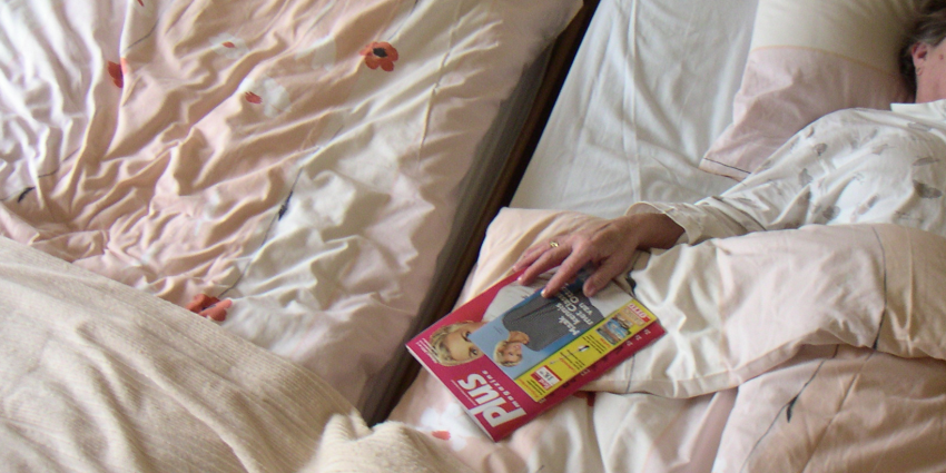 Slaapt u in een bed vol strond?
