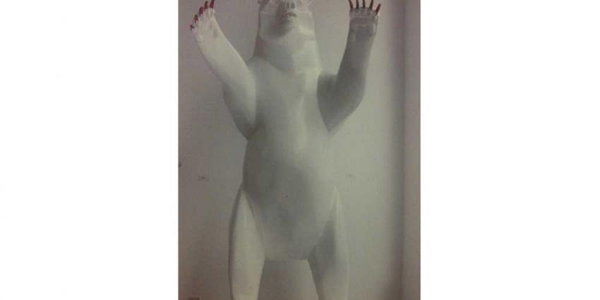 Foto van gestolen witte beer | Politie
