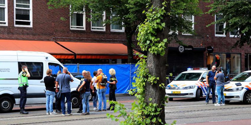Neergeschoten slachtoffer Beethovenstraat ernstig gewond naar ziekenhuis