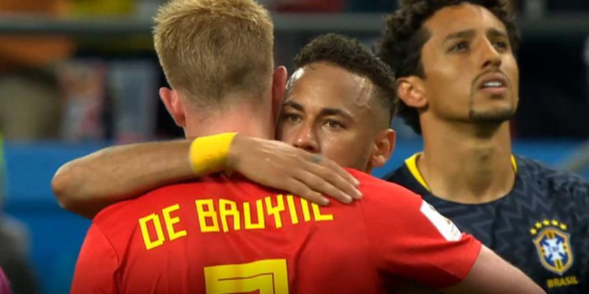 Belgische Rode Duivels verslaan WK-favoriet Brazilië