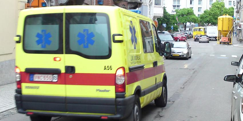 belgië, ambulance, ziekenauto