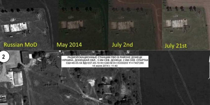 'Rusland manipuleerde satellietbeeld na crash MH17'