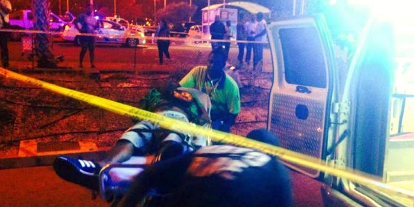 Doden en gewonden door kogelregen op luchthaven van Curaçao