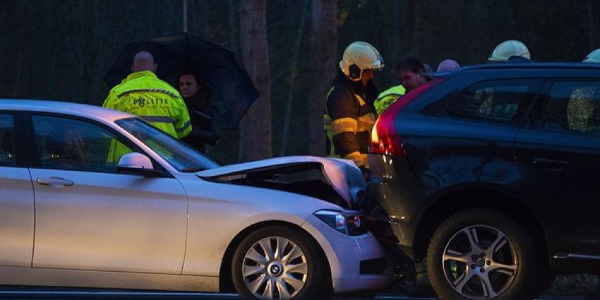 Flinke vertraging door ongeval op snelweg A2 tussen Best en Liempde