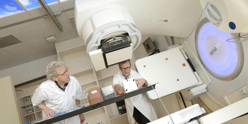 Nieuw bestralingsapparaat minder belastend voor patiënten met kanker