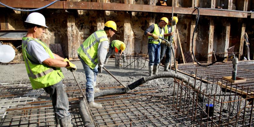 foto van bouw station NS Eindhoven | Prorail