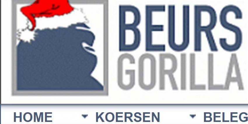 Foto van site BeursGorilla | Beursgorilla.nl | www.beursgorilla.nl