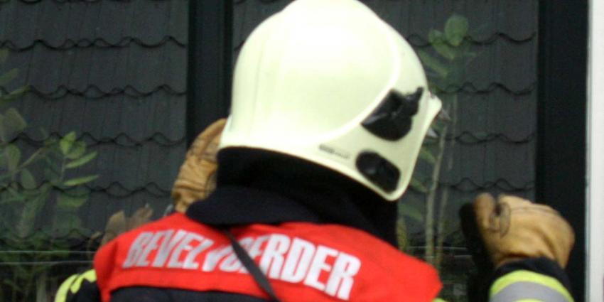 Vrouw overleden na woningbrand