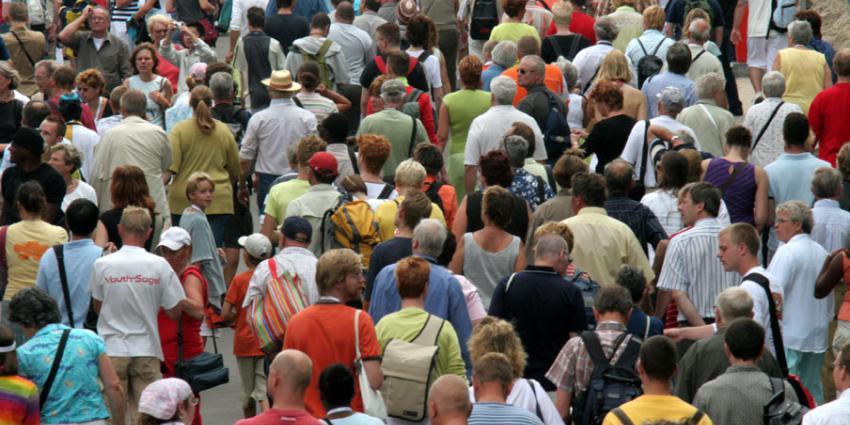 Geen natuurlijke bevolkingsgroei in eerste kwartaal
