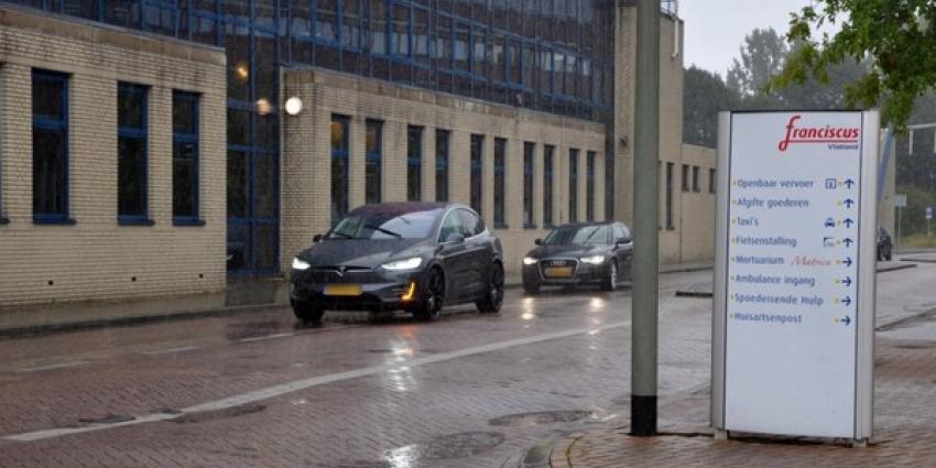 Koninklijk bezoek in Schiedams ziekenhuis