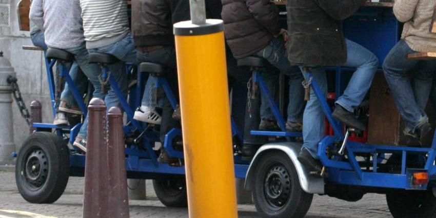 Burgemeester Eberhard van der Laan wil verbod op bierfiets