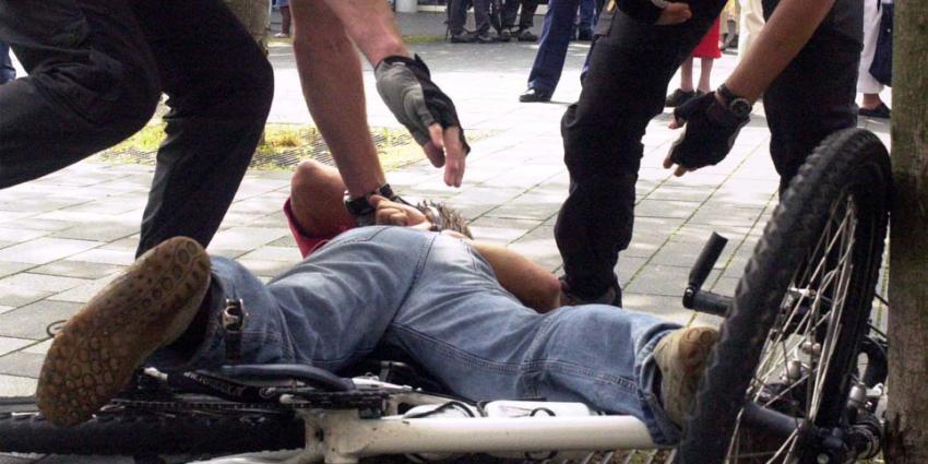 Politie lost schoten tijdens achtervolging