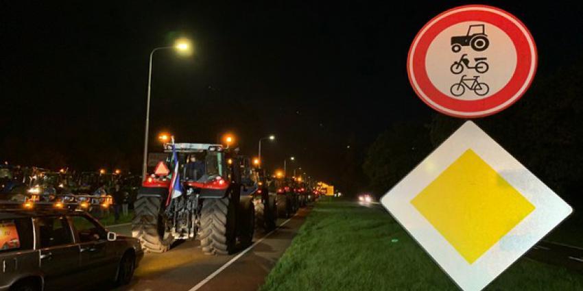 boerenprotest, den haag, rivm, drukte, snelwegen