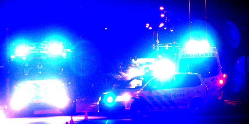 Automobilist omgekomen bij frontale botsing pilaar viaduct Apeldoorn