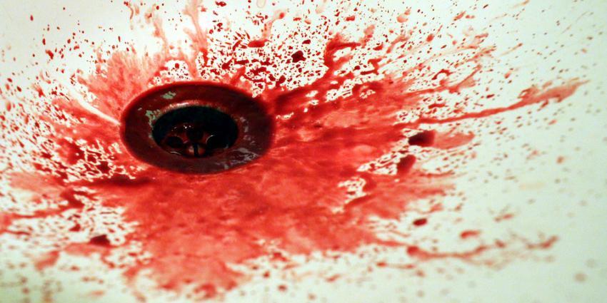 bloed, wasbak