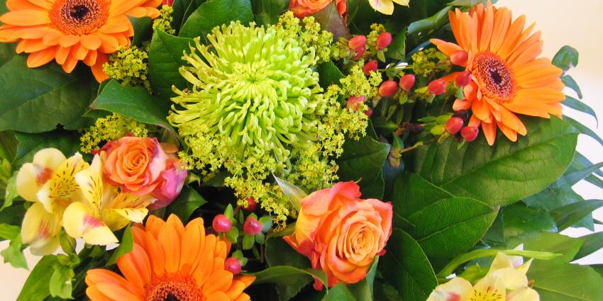 Alsnog bloemetje voor diamanten huwelijk echtpaar in Rucphen