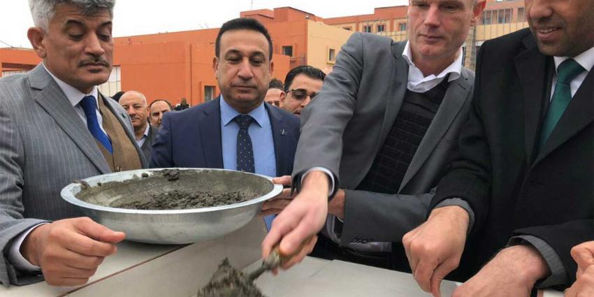 Blok heropent ziekenhuis in Irak: 'Nederland zet in op wederopbouw na verslaan ISIS'