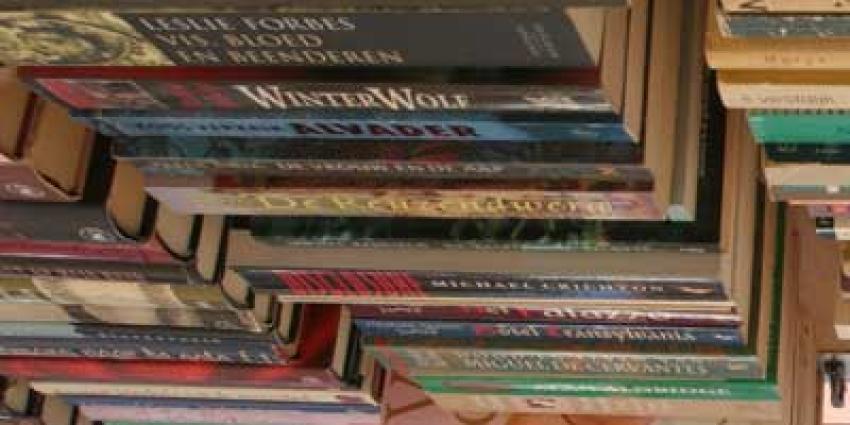 Daling aantal boekwinkels in Nederland