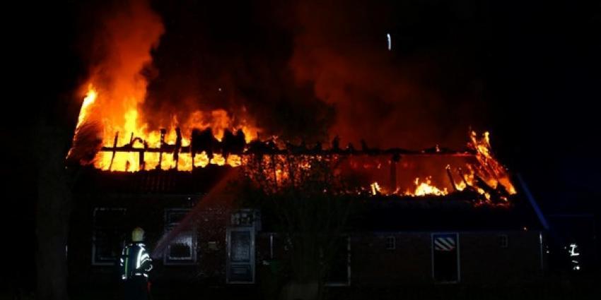 Verdachte omstandigheden bij boerderijbrand in Drouwen