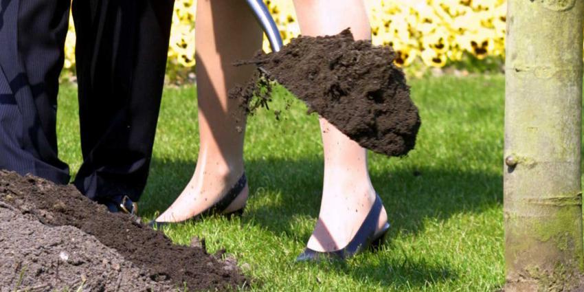 boom-planten-schep