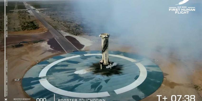 booster-touchdown-bezos-new-shepard-ruimtereis