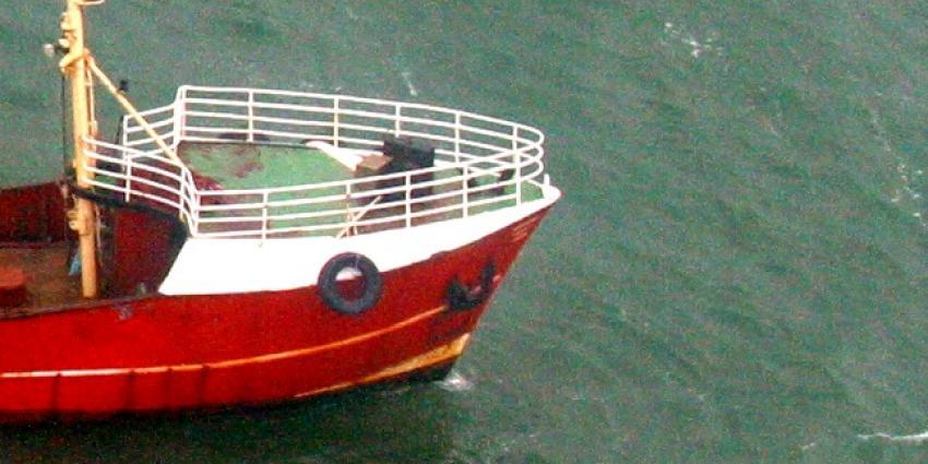 Dronken kapitein aangehouden na aanvaring