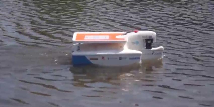 Delftse studenten met autonoom varende boot naar Florida