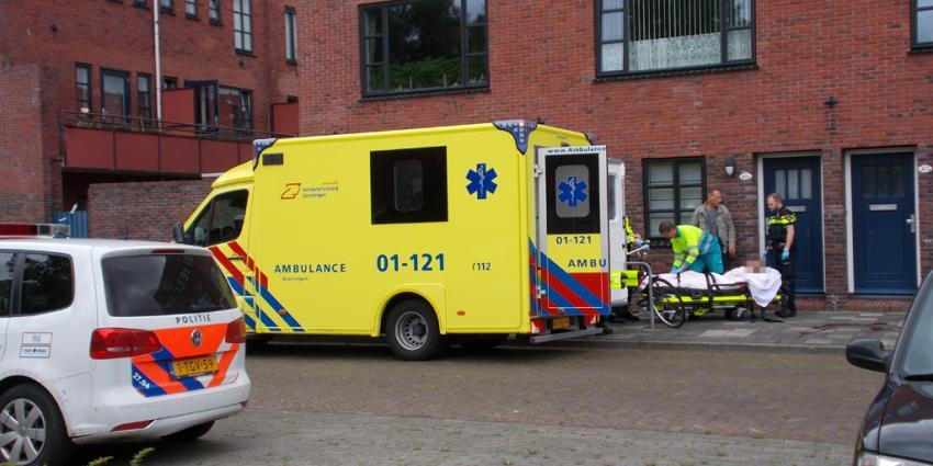 Gewonde man gevonden op Borgwal in Groningen