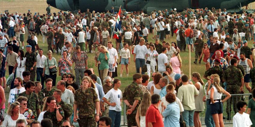 NIOD: Nederland bij val VN-enclave Srebrenica niet in de steek gelaten door bondgenoten